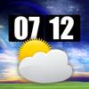 Huang YIN - Awesome World Weathers Clock HD artwork
